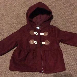 Infant pea coat